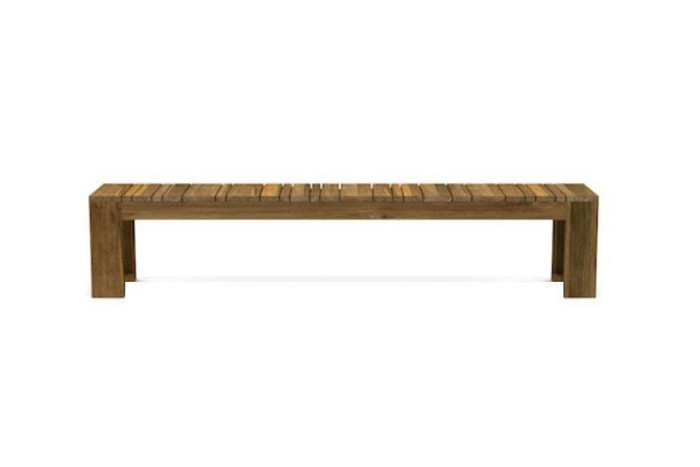 Please note : 2.8m bench has a wood support in the middle of the bench, not shown in attached image