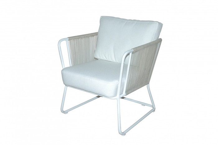 Coast Outdoor Rope And Aluminium Armchair