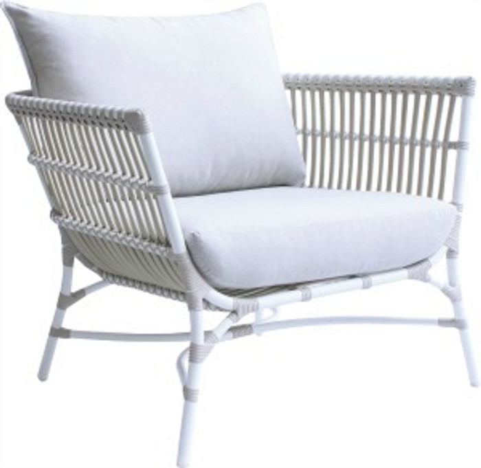 Yoko Outdoor Lounge Chair In Synthetic Cord