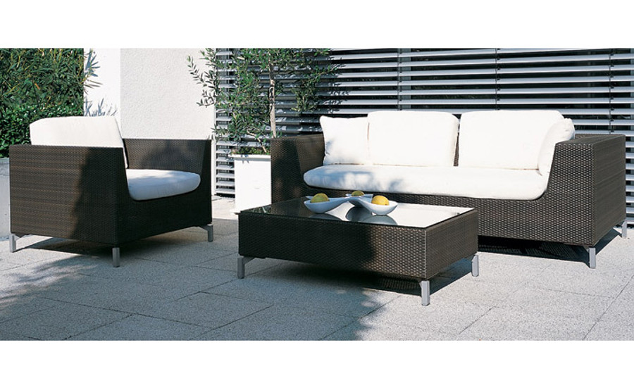 Cubic Bay outdoor Lounge - Rausch Outdoor Furniture Cubic Bay Lounge Suite , Sofa , Synthetic
