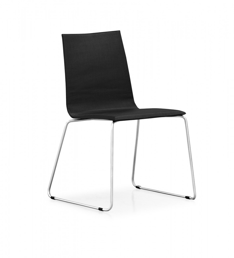 Grace outdoor dining chair in khaki, coffee or black sling