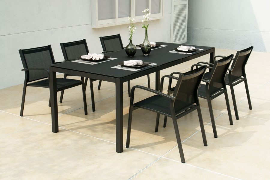 Lisbon outdoor dining table 220x92. Prices from...