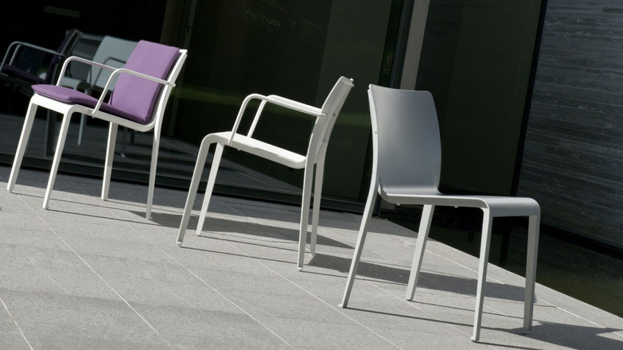 Mirthe dining chair by Tribu - grey colour only