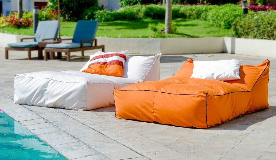 Secret Blend outdoor bean bag double lounger