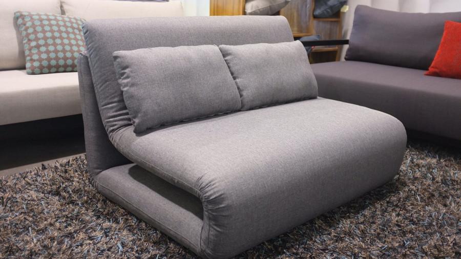 Tri-Fold king single sofa bed in Grey- sofa beds nz