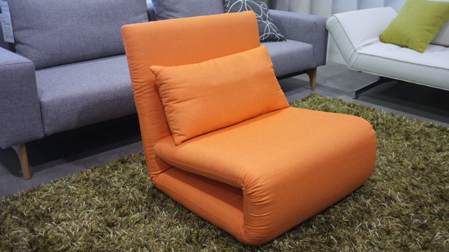 King Single also available in this orange colour (single shown)