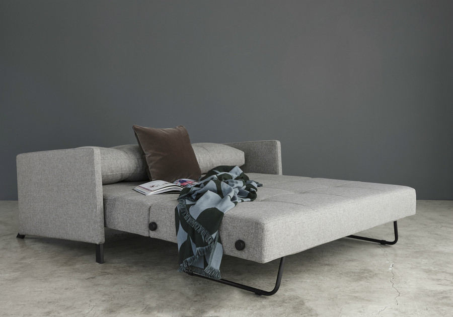 Cubed 160 Queen sofa bed by Innovation with arms