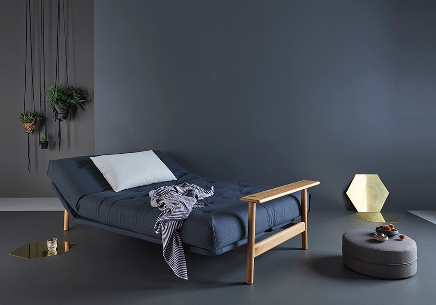 Balder double sofa bed by Innovation with arms