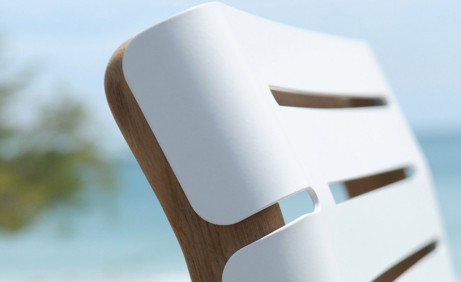 Maiori AT800 series outdoor folding side chair