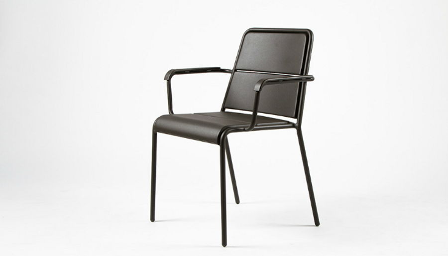 Maiori A600 outdoor aluminium arm chair - various colours