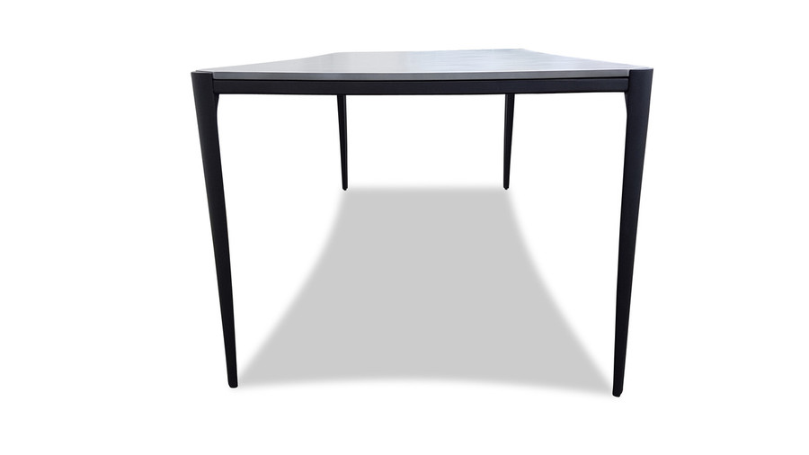 Vera Lightweight Fibre Cement Outdoor Dining Table 210x95
