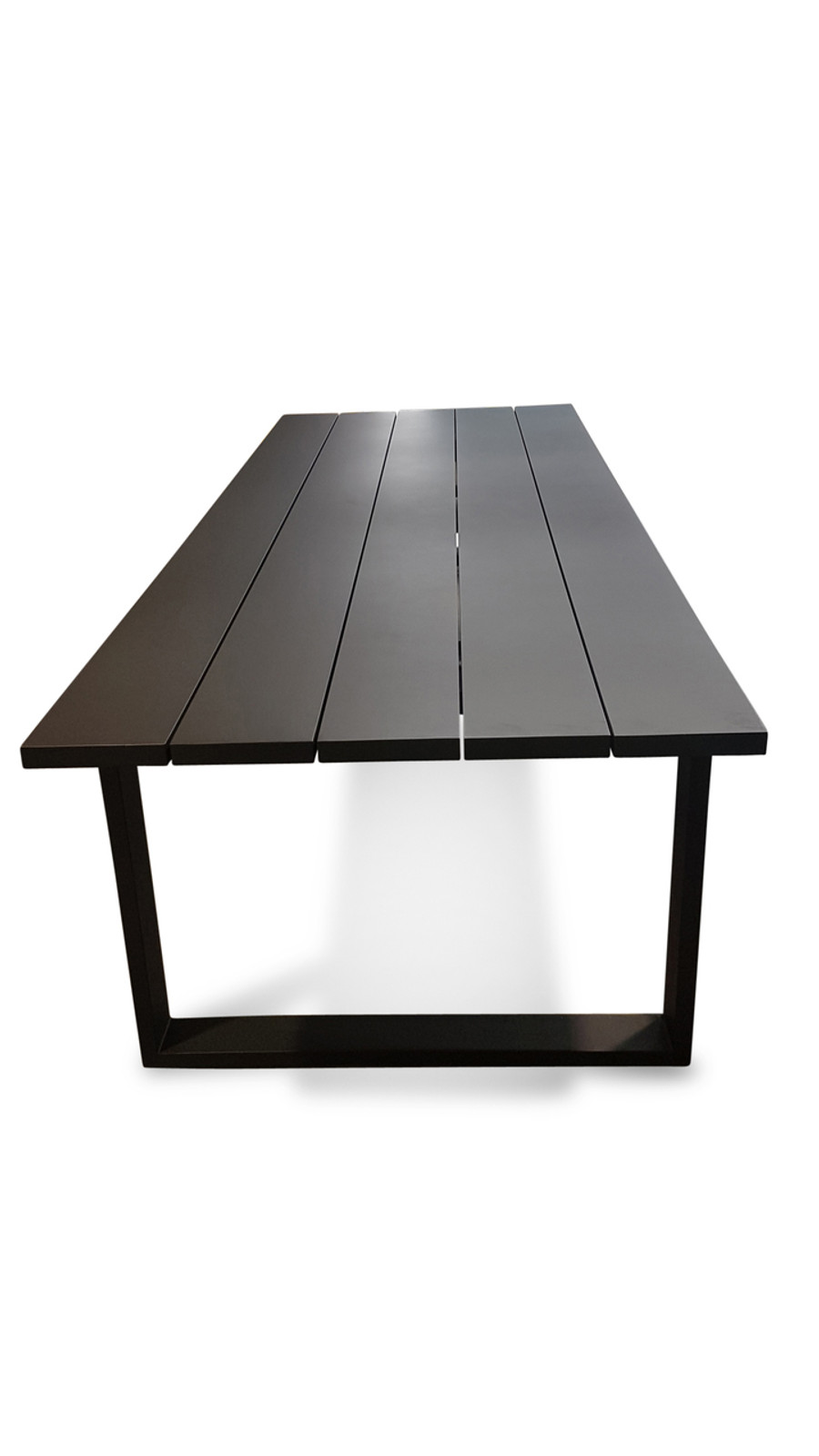 Fermo Outdoor Dining Table 270x102 Aluminium - White Or Charcoal