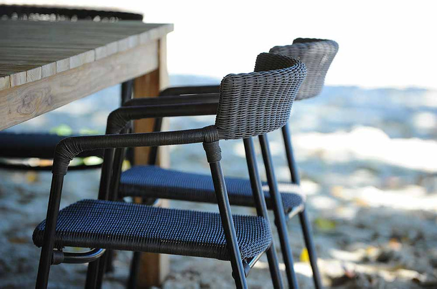 Izzy Outdoor Armchair - 3mm Round Cord Wicker