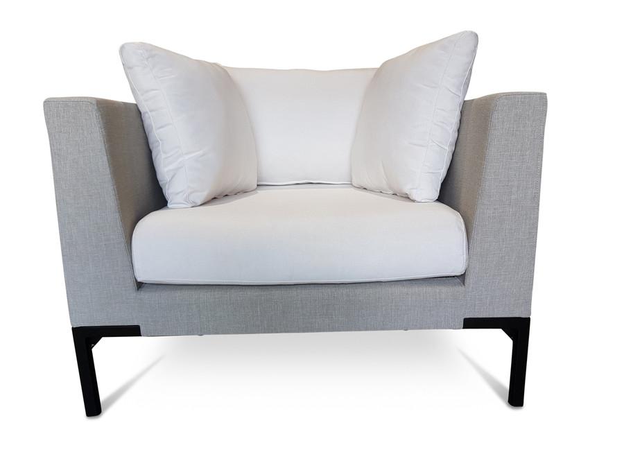 Christa Outdoor Lounge Chair - Nanotex Sand