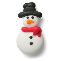 Snowman Crème Filled Sandwich Cookies, Milk Chocolate