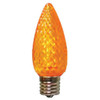 C9 LED Light Bulb in orange