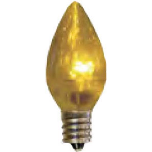 Box of 25 C7 LED Smooth Candelabra Light Bulbs
