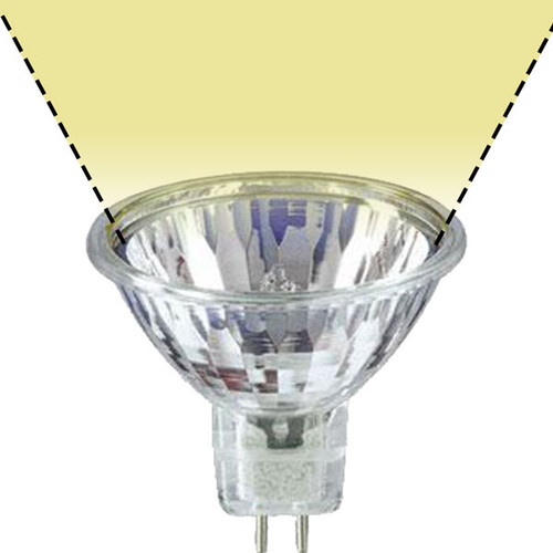 Mr16 Wide Flood: Clear Halogen MR16 Sure Color Wide Flood Bulb