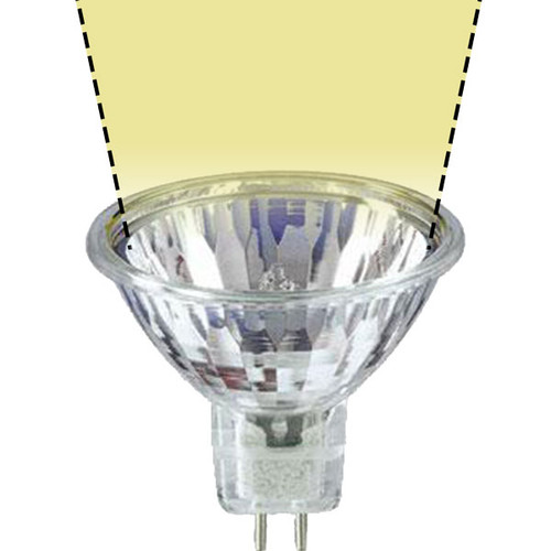 12V 35w Clear Halogen MR16 FMV-U Wide Spot Light Bulb