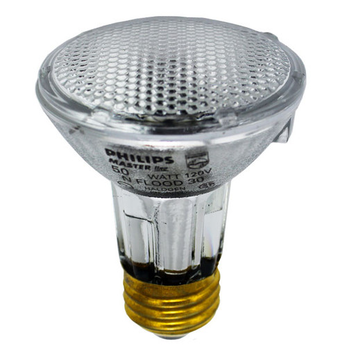 Exn E26 Bulb 50w 120v Medium Base Halogen Mr16 Flood: 50w Halogen PAR20 Flood Light Bulb