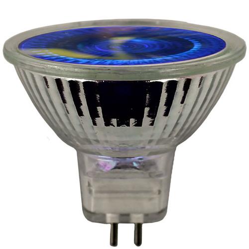 12V 20w Blue Halogen MR16 Flood Light Bulb