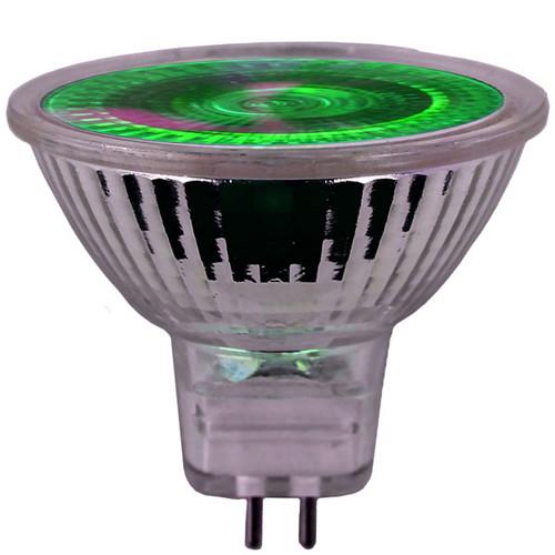 12V 20w Green Halogen MR16 Flood Light Bulb