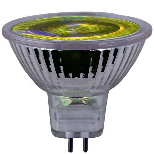 12V 20w Yellow Halogen MR16 Flood Light Bulb