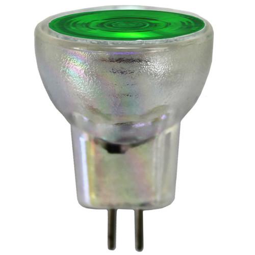 12V 20w Green Halogen MR8 Flood Light Bulb