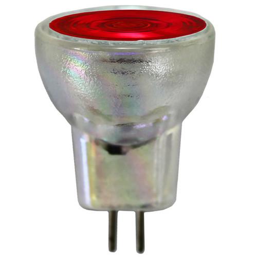 12V 35w Red Halogen MR8 Flood Light Bulb