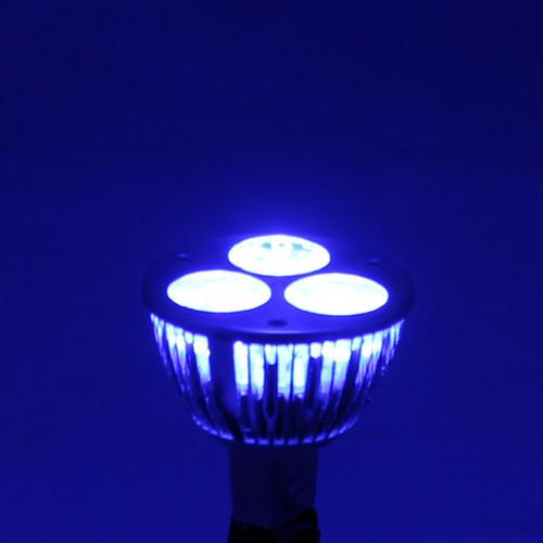 ... Blue LED Wide Spot MR16 Light Bulb (low light conditions)  sc 1 st  AQLighting & 12V 6w Blue LED MR16 Wide Spot Light Bulb (LED1612V6W-BLUE-WS) by AQL