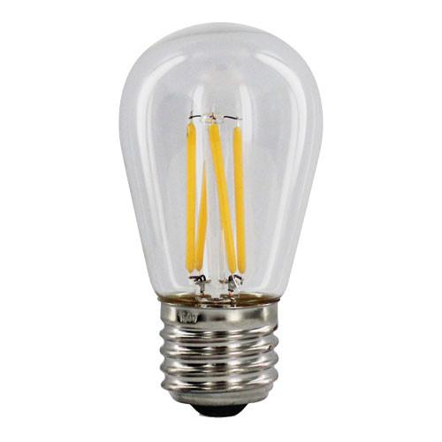 120V 4w Dimmable Warm White LED S14 Light Bulb - 42079