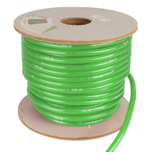 150' Green Incandescent 2 Wire Rope Light Kit - 12V
