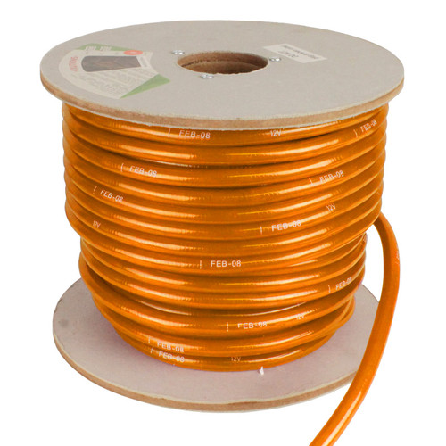 2 wire incandescent orange rope light aqlighting ez lighting 150 orange incandescent 2 wire rope light aloadofball Image collections