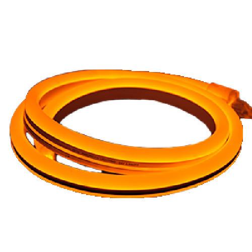 120V Custom Cut Flexible LED Orange Linear Lighting System - POLAR 2 NEON