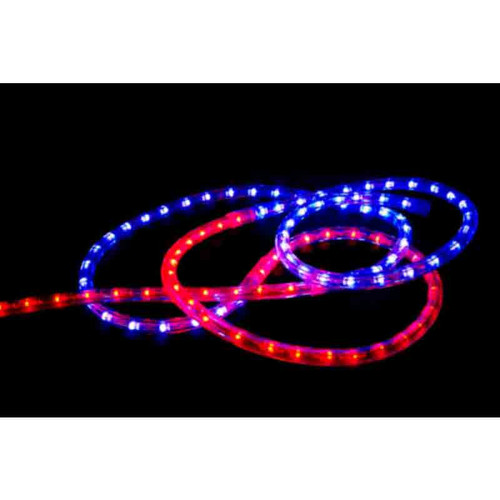 120V LED Type 513 GameDay Rope Light Package - Red / Blue