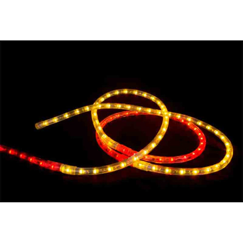 120V LED Type 513 Rope Light Sports Themed Package - Red / Gold