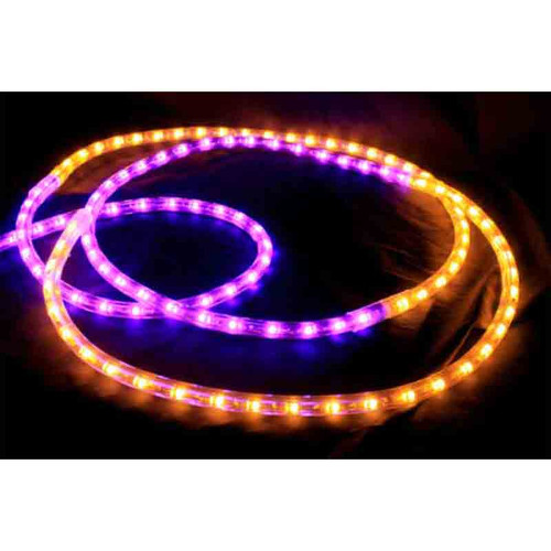 120V LED Type 513 Rope Light Sports Themed Package - Purple / Gold