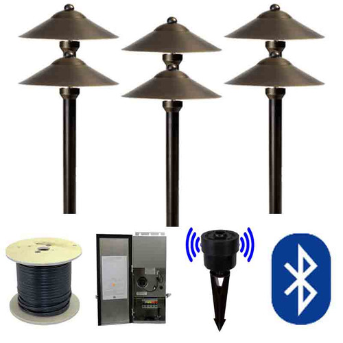 12V SMARTscape Bluetooth LED Landscape Pathway Light Kit -  SMRTSCP-KIT