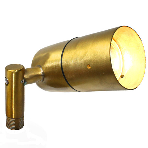 12V Brass Side Arm Spotlight - PSDX613
