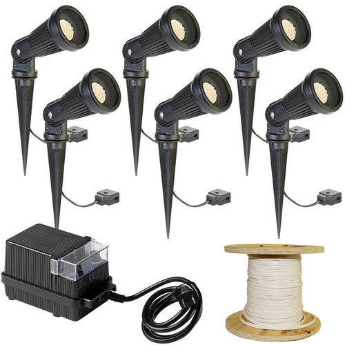 LED 6 Spotlight Landscape Kit - LED-6KIT-002
