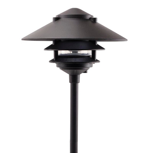 Large Top Pagoda Area Light PAT-LT3R (shown in black)