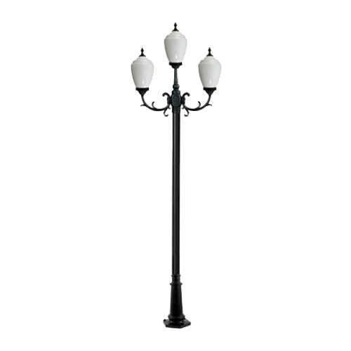 120V  Alisa Three Light Lamp Post - GM4003 - DABMAR