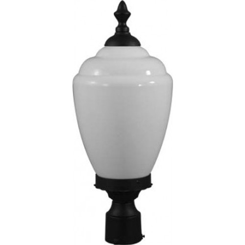 120V Fluorescent Alisa Post Top Mount Light - GM286 - DABMAR