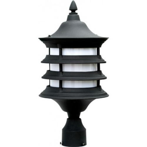 120V Fluorescent Stephanie Post Top Mount Light - GM181 - DABMAR
