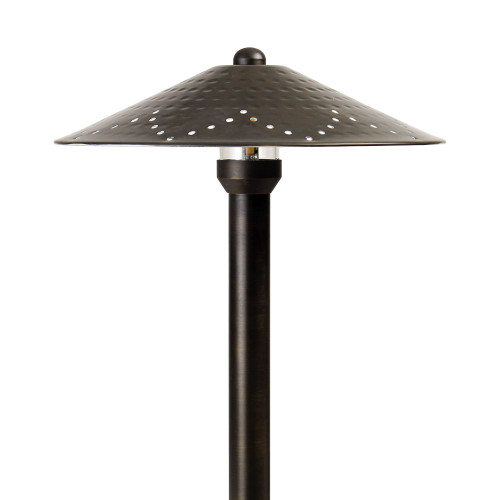 12V / 120V Cast Brass Hammerhead Area Pathway Light - PASH888