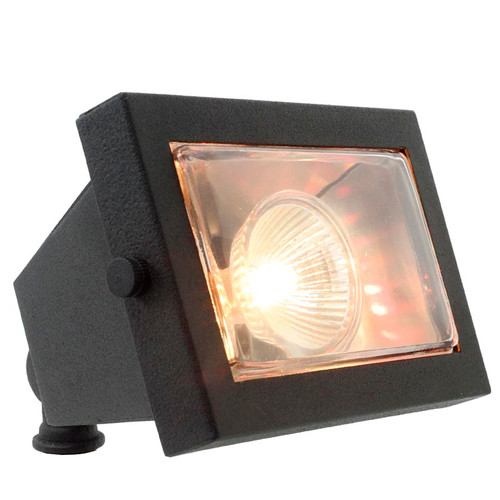 LED Premium Rectangular Open Face Brass Floodlight LEDX110