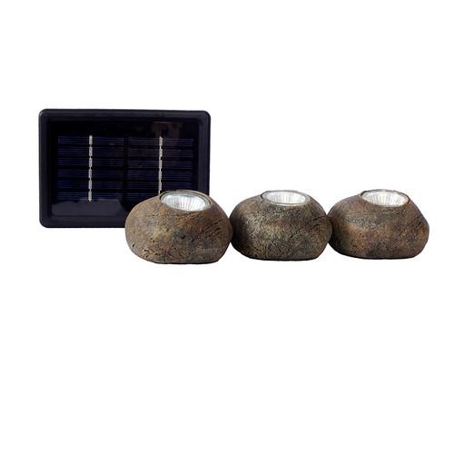 LED Solar 3 Rock Light Kit