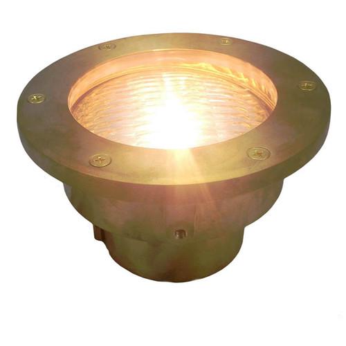12v LED Brass In Ground Well Light LEGX003