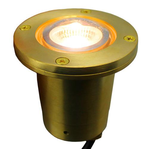 12V LED Cast Brass In Ground Light LEGDX77