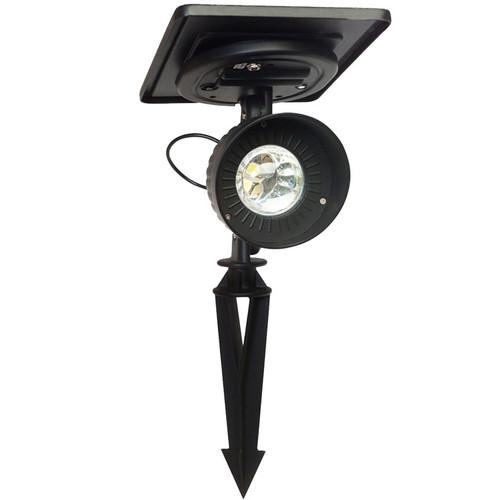 LED Solar Charged Cast Aluminum Accent Spotlight GS-103